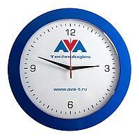 Часы настенные Vivid Large, синие, фото 1