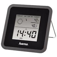 Метеостанция комнатная Hama TH50, черная, фото 1