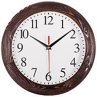 Часы настенные Treecky, мореный дуб, фото 1