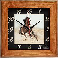 Часы настенные Treenity, орех, фото 1