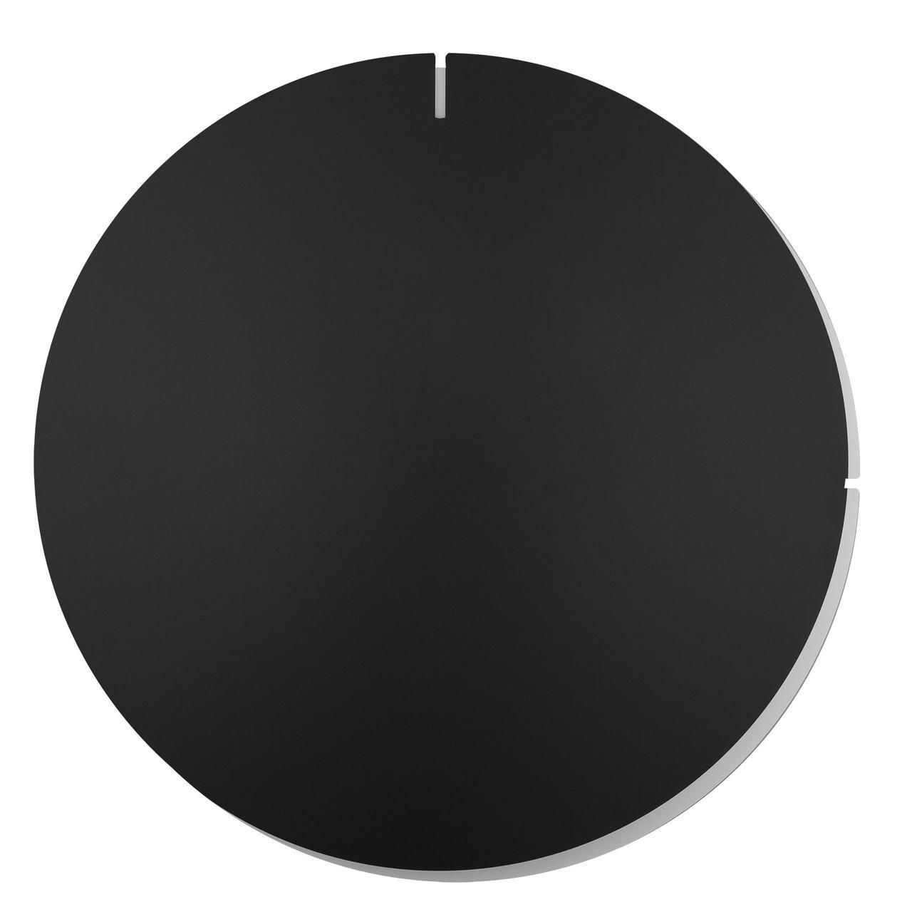 Часы настенные Melancholia Clock, черные