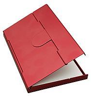 Футляр для визитных и кредитных карточек Stand, красный, фото 1