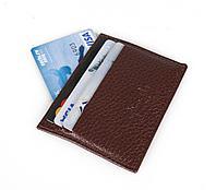 Футляр для кредитных карт, коричневый, фото 1