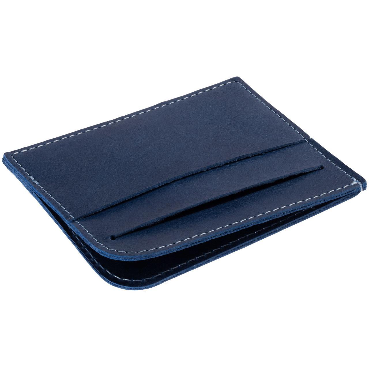 Чехол для карточек Apache, синий