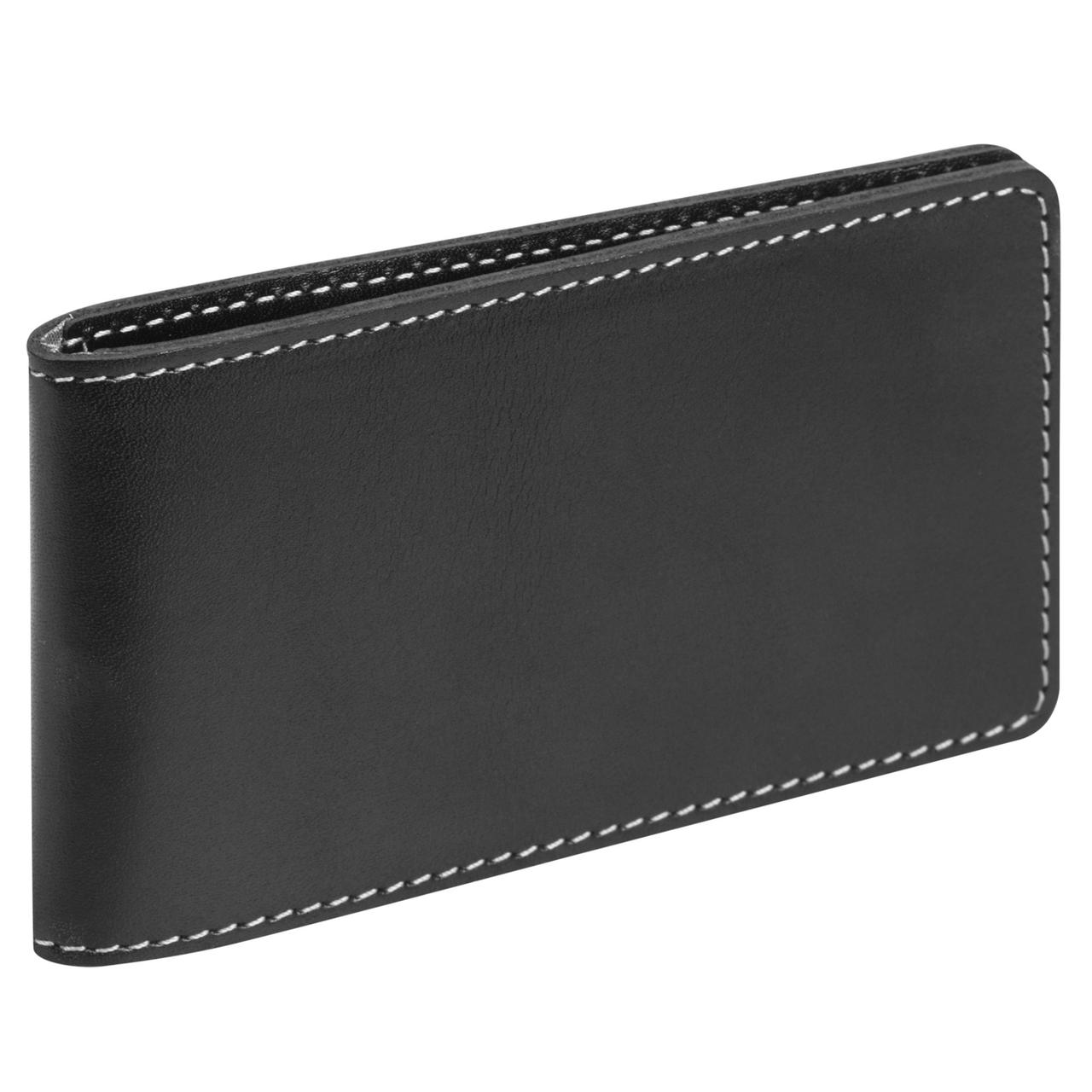 Футляр для пластиковых карт Security, черный