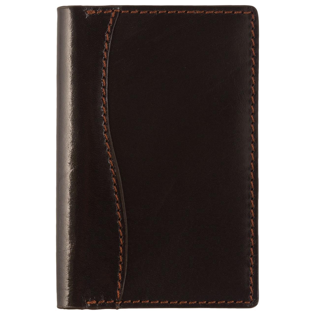 Обложка для паспорта Exclusive, коричневая