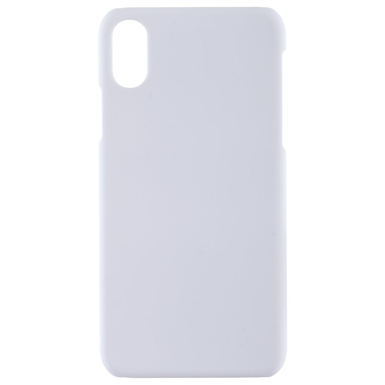 Чехол Exсellence для iPhone X, пластиковый, белый