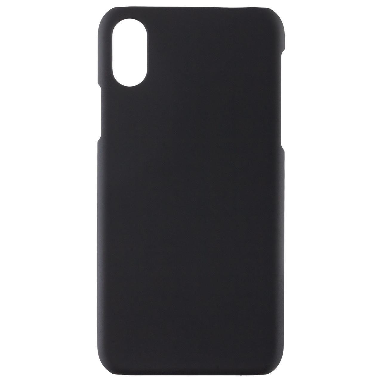 Чехол Exсellence для iPhone X, пластиковый, черный