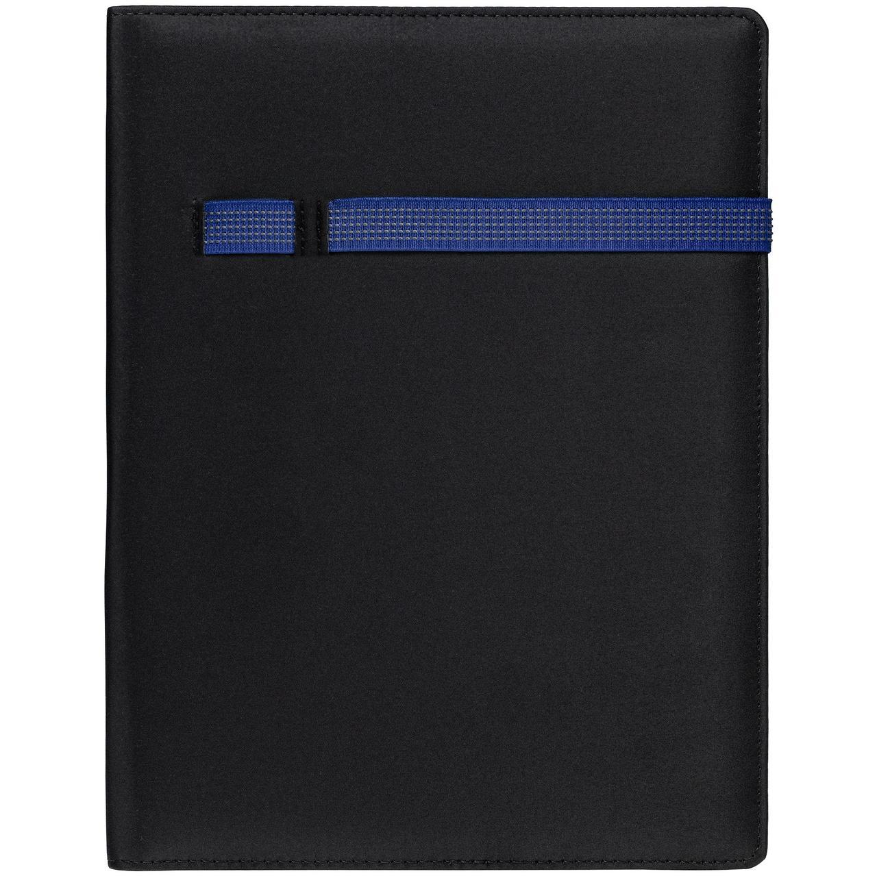 Папка Torga, черная с синим