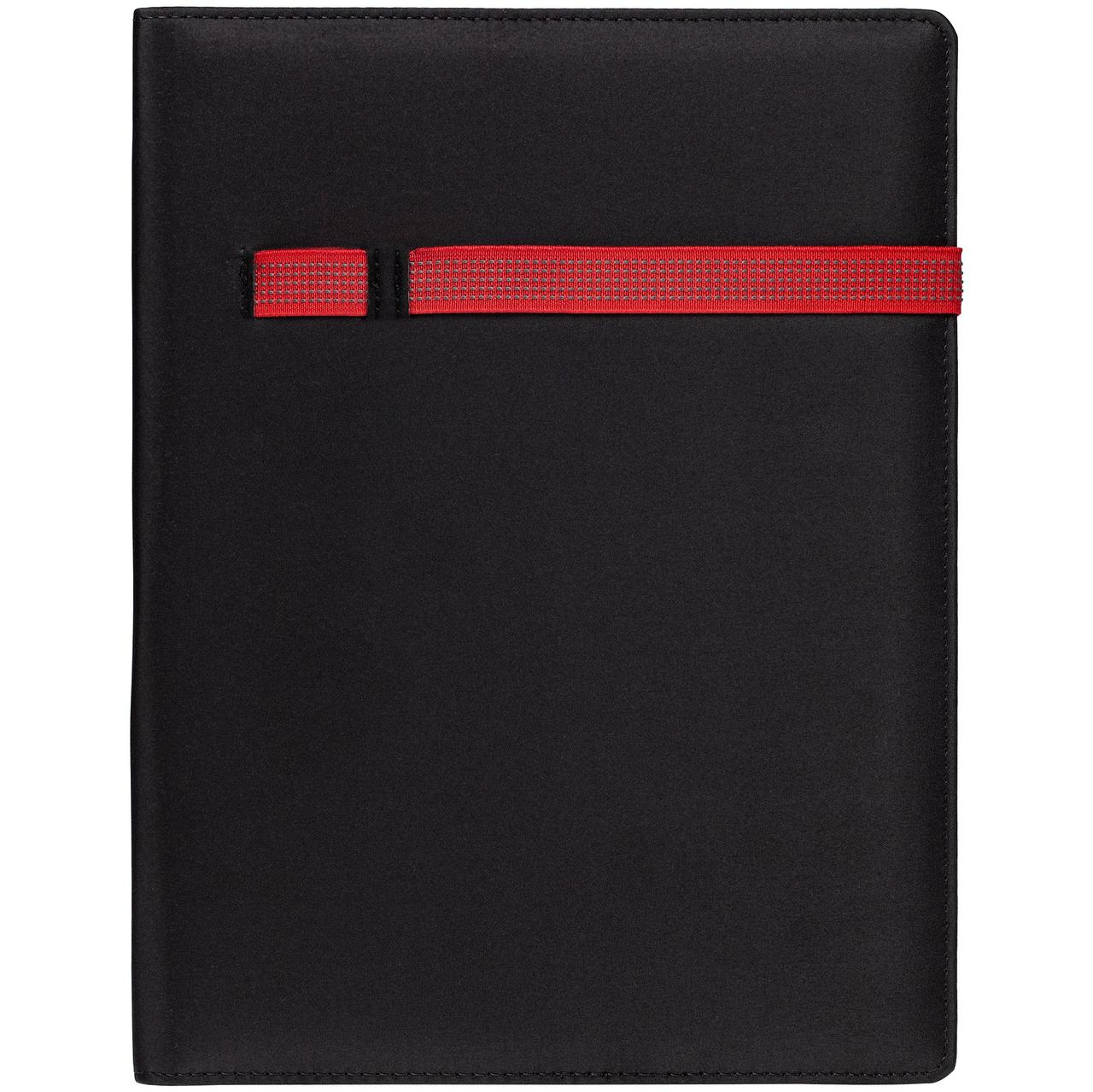 Папка Torga, черная с красным