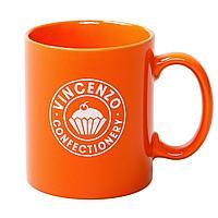 Кружка Promo, оранжевая, фото 1