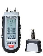 CEM Instruments DT-125G Влагомер с 4 датчиками для дерева, картона, цемента, бетона 480199