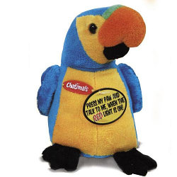 Chatimals Интерактивный попугай-повторюшка