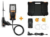 Testo 310 комплекте c ИК принтером с несъемным зондом отбора пробы L = 180 мм, ИК-принтером, в кейсе, фото 1