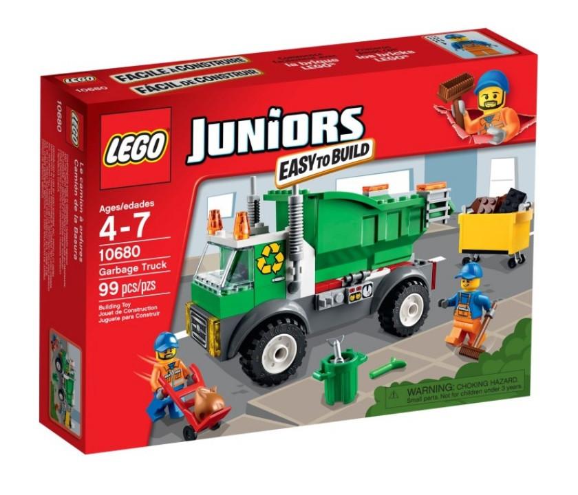10680 Lego Juniors Мусоровоз