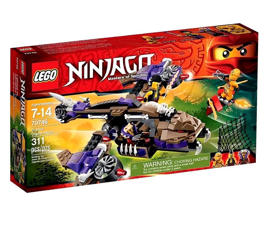 70746 Lego Ninjago Верталетная атака Анакондраев, Лего Ниндзяго