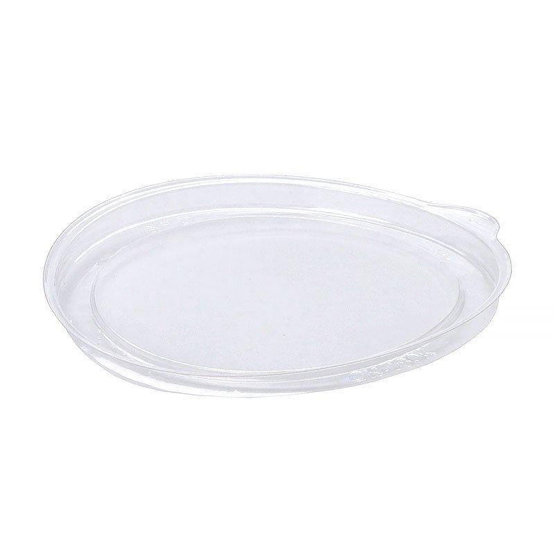 Крышка круглая d-99мм, прозрачная, (61522) ОПС, 1100 шт