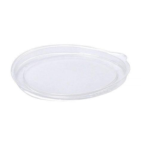 Крышка круглая d-99мм, прозрачная, (61522) ОПС, 1100 шт, фото 2
