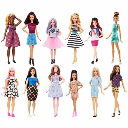 """Mattel Barbie Куклы из серии """"Игра с модой"""" с набором одежды в ассортименте"""