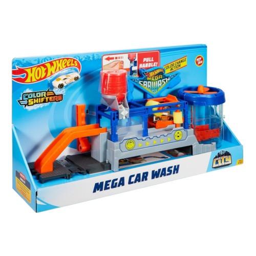 Игровой набор из серии Hot Wheels - Сити МегаАвтомойка