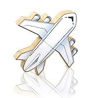 """Флешка """"Самолет 2 """" DR086 (дерево) 4 гб"""