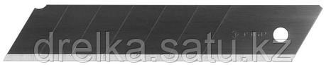 """Лезвия ЗУБР """"ЭКСПЕРТ"""", """"ВОРОНЕНЫЕ"""", сегмент, улучшенная инструментальная сталь У12А, в боксе, 25мм, 5 шт, фото 2"""