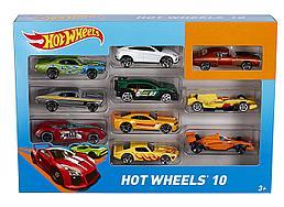 Hot Wheels Подарочный набор из 10-ти машинок