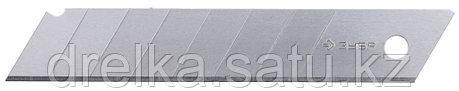 """Лезвия ЗУБР """"ЭКСПЕРТ"""" сегментированные, улучшенная инструментальная сталь У8А, в боксе, 18 мм, 10шт , фото 2"""