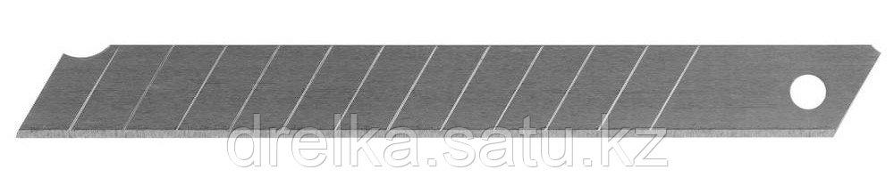"""Лезвия STAYER """"STANDARD"""" сегментированные, 9 мм, 10 шт, в боксе"""