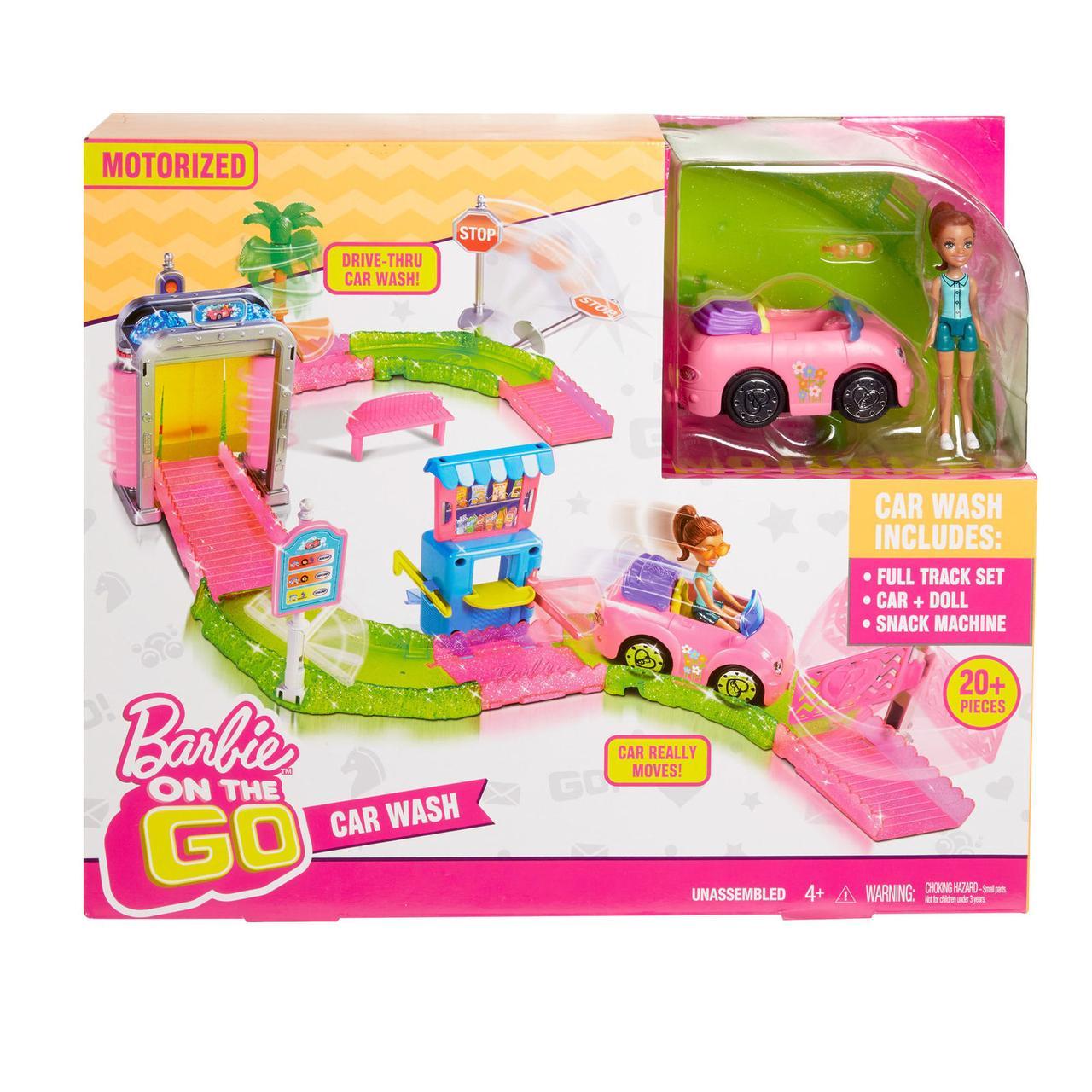 Игровой набор Барби в движении - Мойка машины