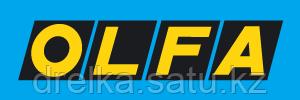 Нож OLFA с выдвижным лезвием, с противоскользящим покрытием, фиксатор, 25мм , фото 2