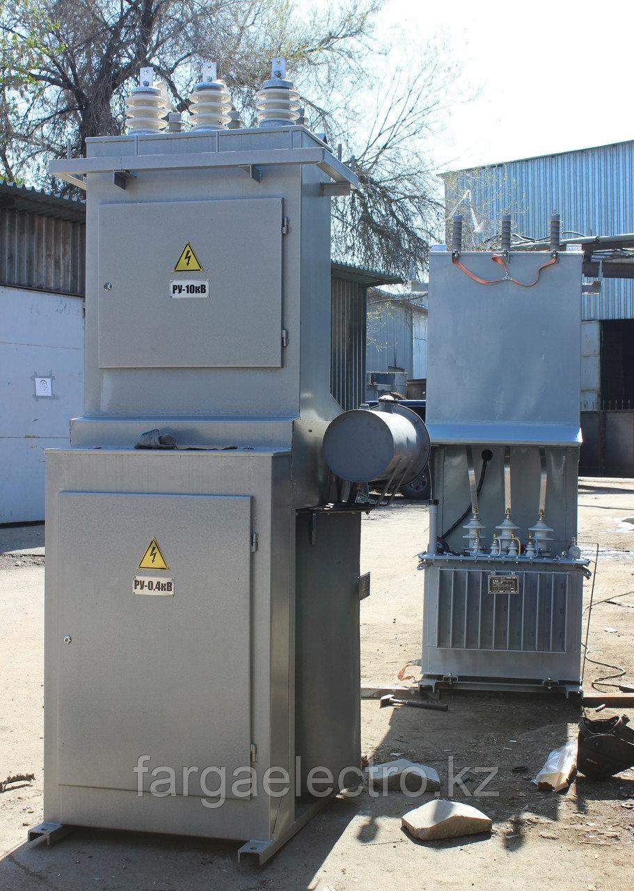 КТПС 160 кВА, Комплектная трансформаторная подстанция сельская КТПС 160 кВА, с Трасформатором