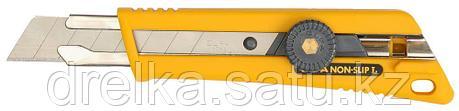 Нож OLFA с выдвижным лезвием, со специльным покрытием, фиксатор, 18мм, фото 2