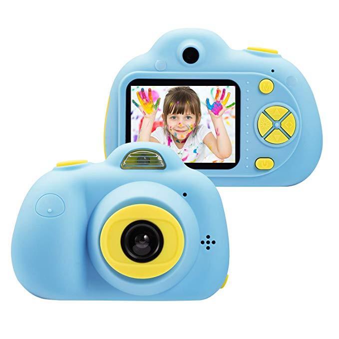 Цифровая камера Digital Camera For Children Blue