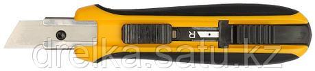Нож OLFA с выдвижным трапецевидным лезвием, автофиксатор, 17,5мм , фото 2