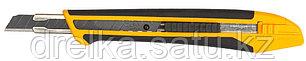 """Нож OLFA """"Standard Models"""" с выдвижным лезвием, с противоскользящим покрытием, автофиксатор, 9мм , фото 2"""