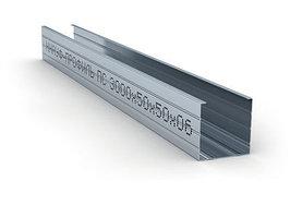 Профиль стоечный стальной Кнауф (ПС)  50/50 (0,6 мм)