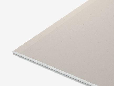 ГКЛ Кнауф обычный стеновой гипсокартон А-ПЛУК 2500х1200х12,5 мм