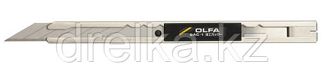 Нож OLFA для графических работ, корпус из нержавеющей стали, 9мм , фото 2