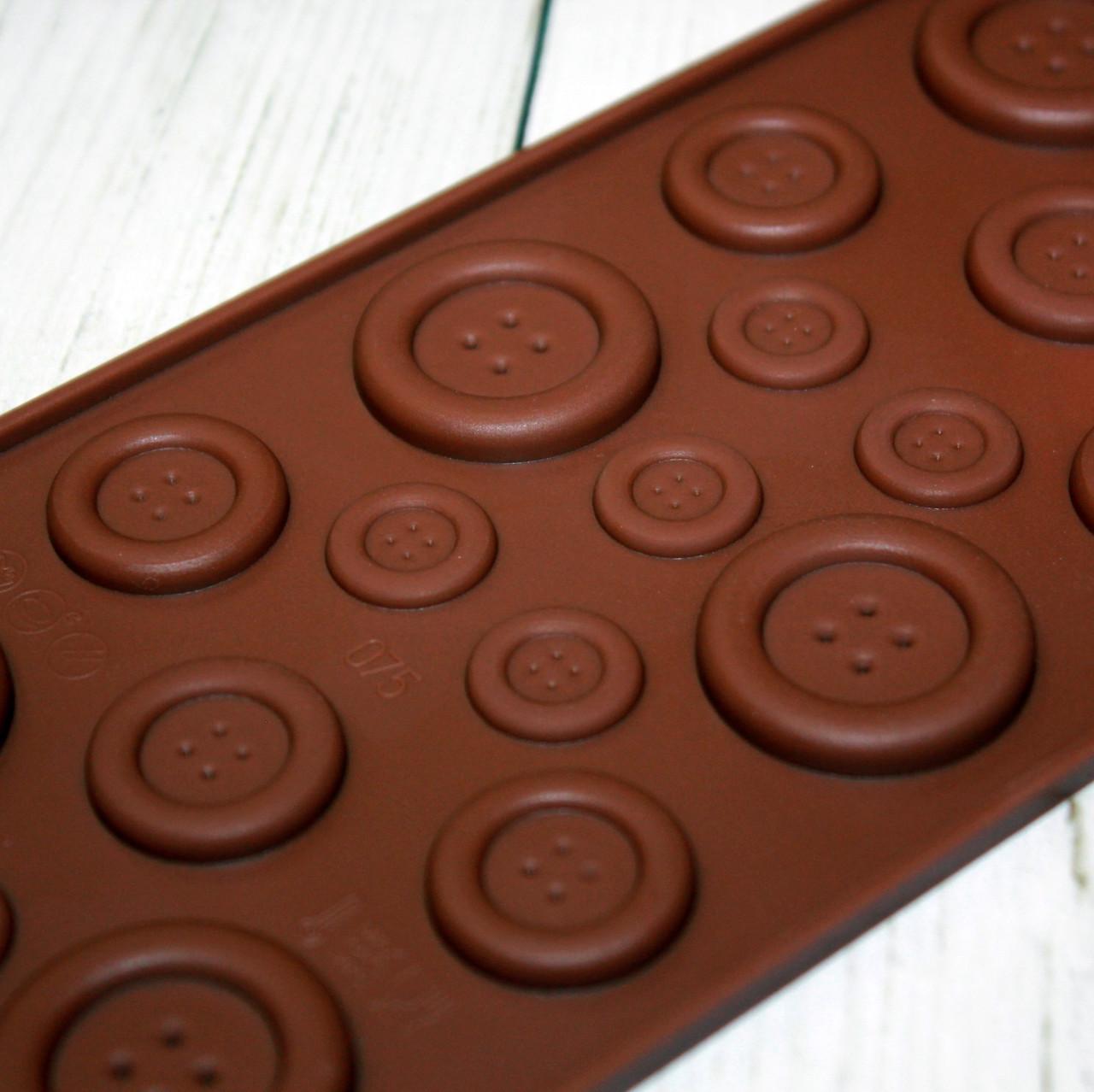 Силиконовая форма для шоколада R.I.M
