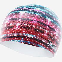 Шапочка для плавания TYR Glitz Swim Cap