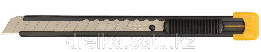 Нож OLFA с выдвижным лезвием, металлический корпус, 9мм