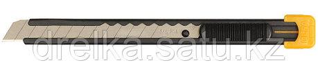 Нож OLFA с выдвижным лезвием, металлический корпус, 9мм, фото 2