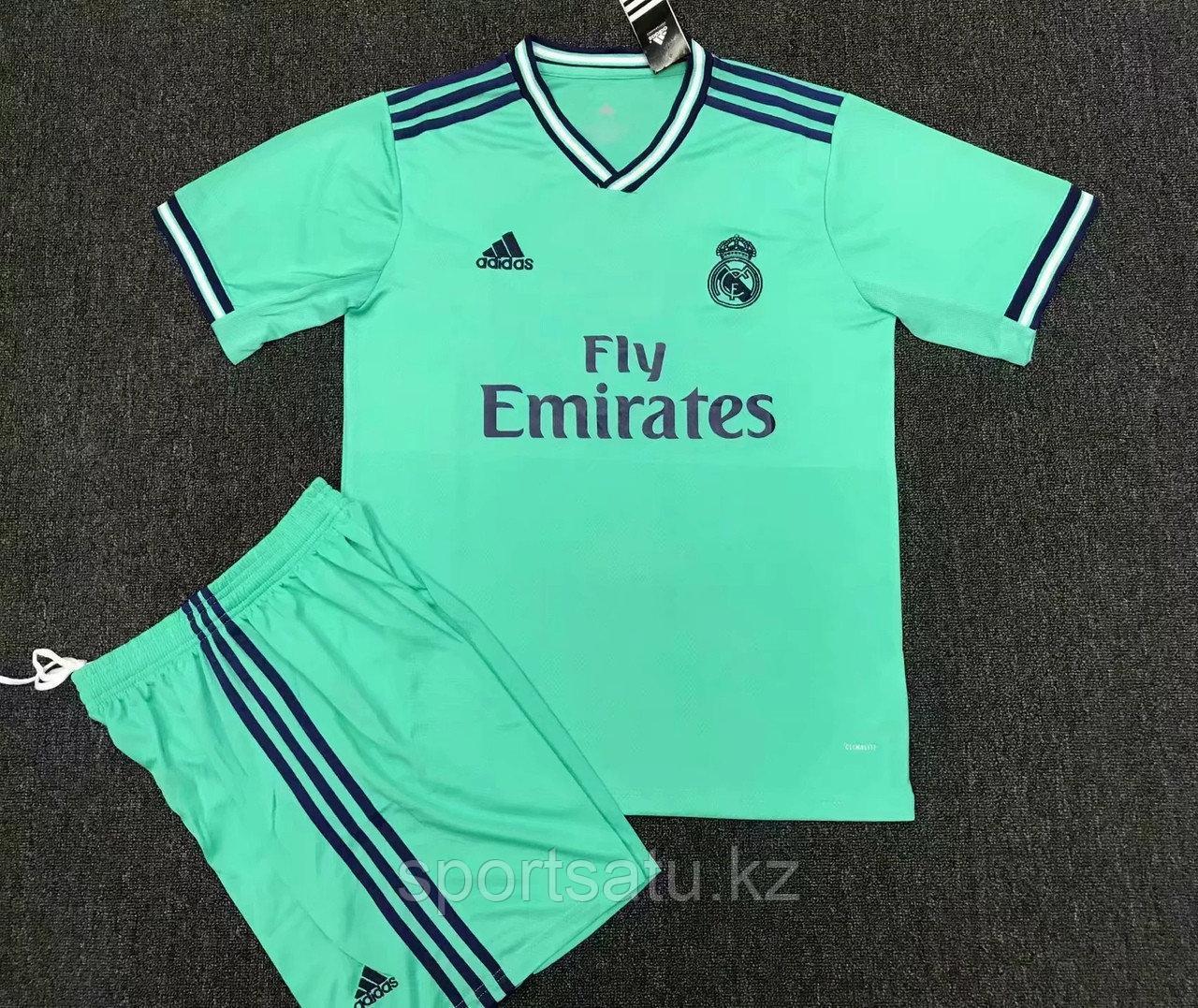 Реал Мадрид форма детская 2019/20 гостевая (майка+шорты)