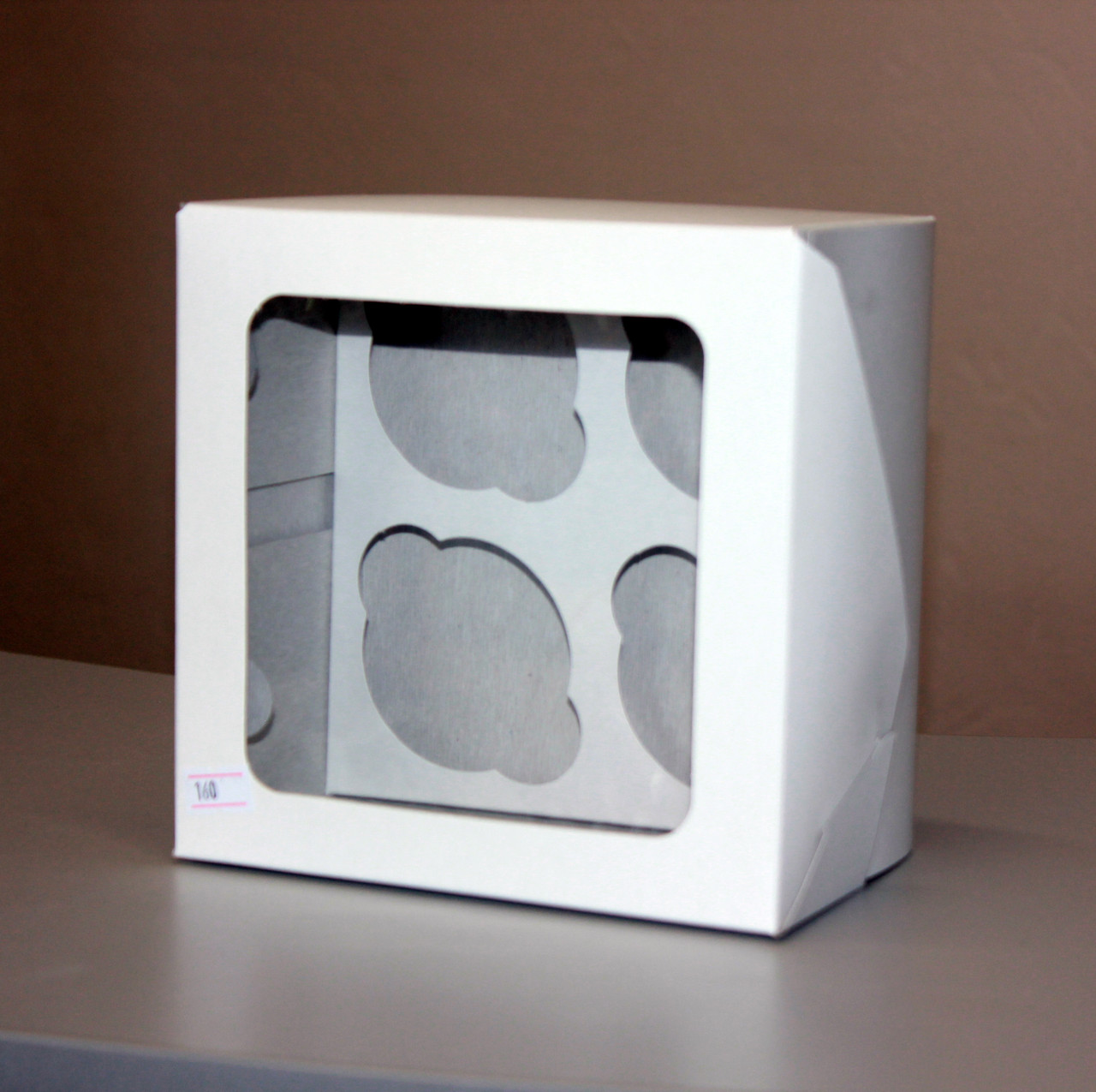 Коробка на 4 капкейков
