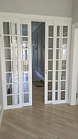 Двери раздвижные остекленные