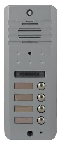 Commax DRC-4DC - Вызывная панель видеодомофона на 4 абонента.