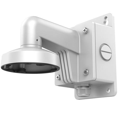 DS-1273ZJ-135B - Настенный алюминиевый кронштейн с распредкоробкой для купольных камер.