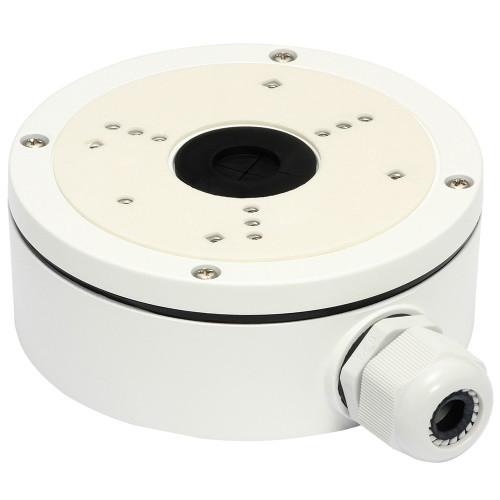 DS-1280ZJ-S - Распределительная коробка (монтажная база) для купольных камер.