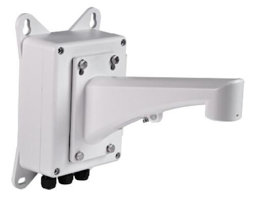 DS-1602ZJ-box - Настенный металлический кронштейн с распредкоробкой для скоростных купольных камер.